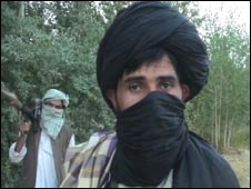 The Taleban commander in Wardak
