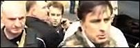 Тревога во время встречи Саакашвили с прессой