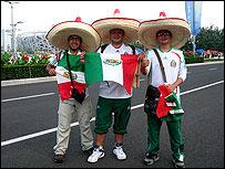 Jorge Reyes, José Antonio Rodríguez y Rafael Islas