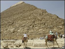 Giza Pyramid, 11 August, 2008