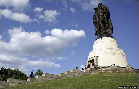 The Russian memorial in East Berlin