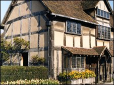 Shakespeare's Birthplace (pic: Birthplace Trust)