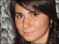 Maya Mamajanashvili, lectora de la BBC en Tiflis, Georgia
