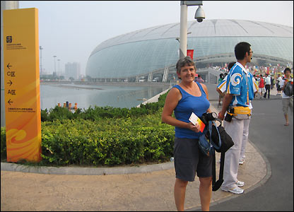 Karen Griffiths in Tianjin