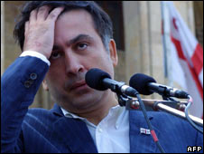 Georgian President Saakashvili