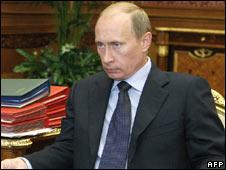 Russian Prime Minister Putin