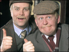 Greg Hemphill, left, and Still Game co-star Ford Kiernan