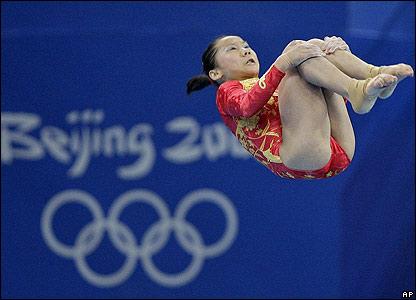 Deng Linlin in action