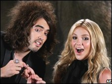 Russell Brand and Britney Spears