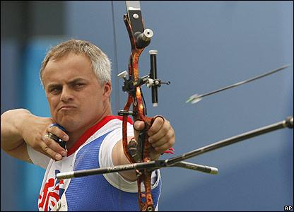 Terry unleashes an arrow