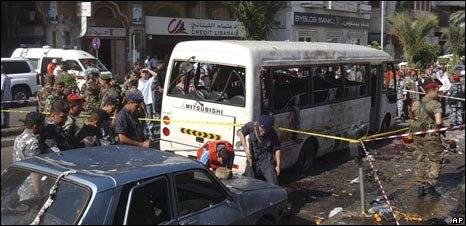 Aftermath of Tripoli bombing