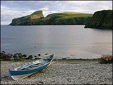 Fair Isle (Picture courtesy of Undiscovered Scotland)