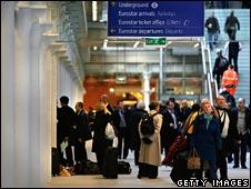 Eurostar terminal