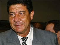 South Africa's Brazilian coach Joel Santana