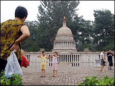 Model of the Capitol building in Washington DC, Shijie Park