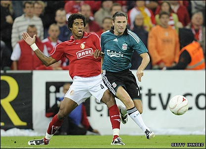 Liverpool's Robbie Keane