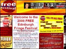 free festival website