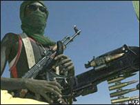 أحد افراد جيش تحرير السودان
