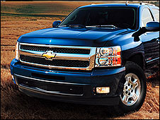 Chevrolet Silverado (image from Chevrolet website)