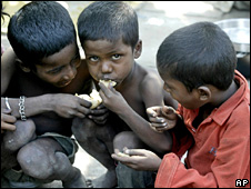 Indian street urchins