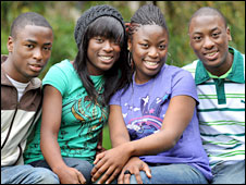 Quads Tobi, Tayo, Tolu and Tosin