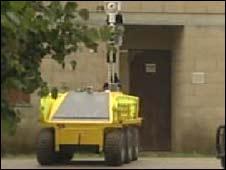 Prototype military robot