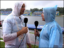 Sir Steve Redgrave and John Inverdale