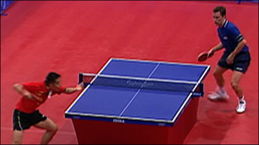 Bbc sport olympics table tennis video the history for 10 rules of table tennis