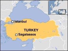 Sagalassos Map