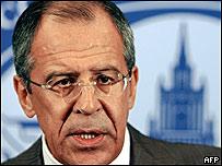 Ministro de Exteriores ruso, Sergei Lavrov