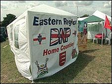 BNP tent