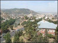 Panorama of Tblisi