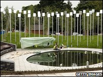 Garden of Light memorial for Omagh victims