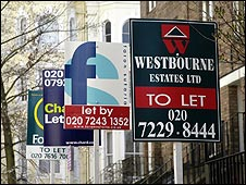 To Let signs in London