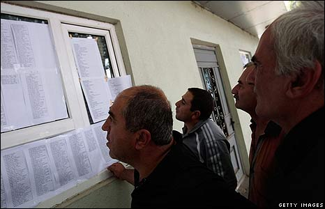 Casualty lists in Gori