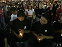 Rusos rezan en Moscú por las víctimas en Osetia del Sur