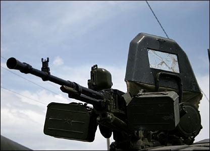 В их задачу входит охрана складов оружия
