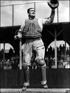 Baseball player Moe Berg