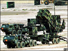 Patriot Missile launcher (file)