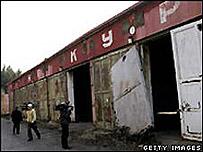La ex base militar soviética en Brdy en la República Checa