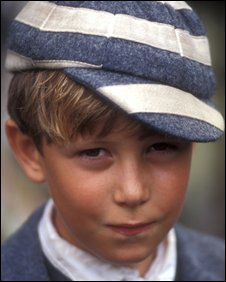 Oliver Rokison as William in BBC series based on schoolboy stories