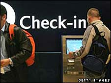 Check-in desk