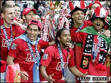 Man Utd Celebration