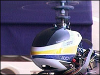Aero@Put's helicopter used in remote sensing