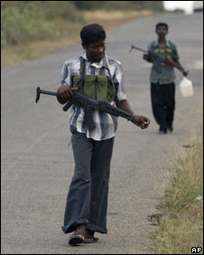 Tamil Tigers in Sri Lanka