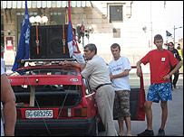 Демонстрации националистов собирают немного народу
