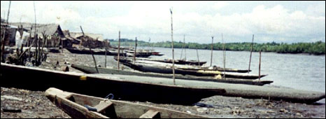 Fishing boats in Bakassi (Archive picture)