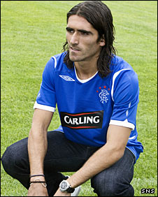 New Rangers signing Pedro Mendes