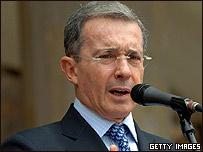 Presidente de Colombia, Álvaro Uribe