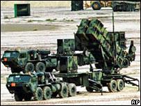 Batería de misiles Patriot